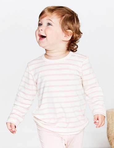 Boody Baby Stripe Long Sleeve Top