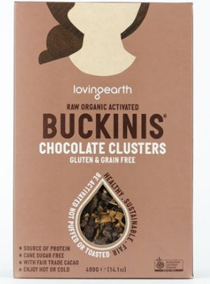 Loving Earth Buckinis - Chocolate Clusters