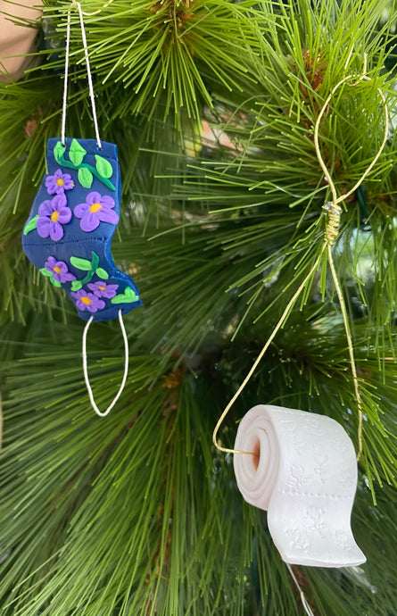 2020 Themed Tree Ornaments