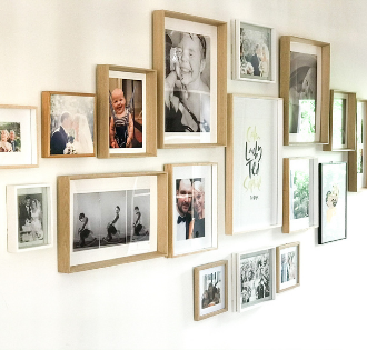 DIY Photo Wall