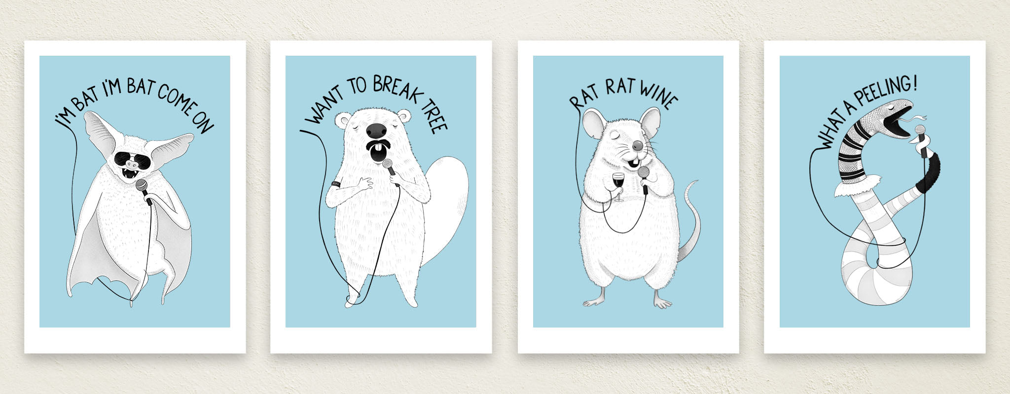 Art Prints for Sale | Museum Quality Giclee Art Prints by illustrator Lucia Eggenhoffer | Color and black and white
