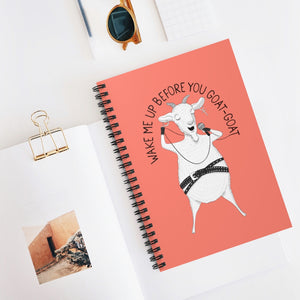 "Goat singing ""Wake Me Up Before You Goat-Goat"" 