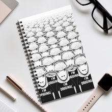 Load image into Gallery viewer, There's Nobody Like Meh | Spiral Notebook 80 pages-80 pages notebook-Eggenland