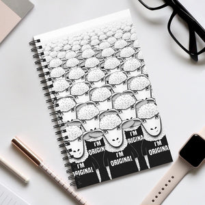 There's Nobody Like Meh | Spiral Notebook 80 pages-80 pages notebook-Eggenland