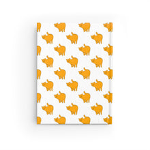 Load image into Gallery viewer, Yellow Cat Pattern | Journal - Blank-journals-Journal-Eggenland