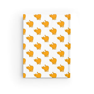 Yellow Cat Pattern | Journal - Blank-journals-Journal-Eggenland