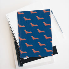 Load image into Gallery viewer, Cute Dachshund Dog | Blue | Journal - Blank-journals-Journal-Eggenland