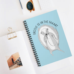 "Skunk singing ""Groove Is In The Heart"" 