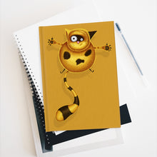 Load image into Gallery viewer, Fat Cat | Golden | Journal - Blank-blank journals-Journal-Eggenland
