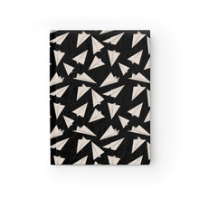 Load image into Gallery viewer, Paper Planes Pattern | Black White | Journal - Blank-journals-Journal-Eggenland