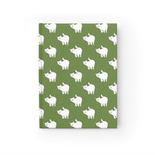 Load image into Gallery viewer, Cute Cat Pattern | Green | Journal - Blank-journals-Journal-Eggenland