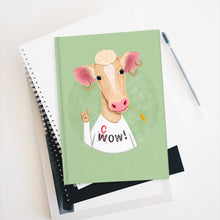 Load image into Gallery viewer, Wow Cow | Green | Journal - Blank-blank journals-Journal-Eggenland