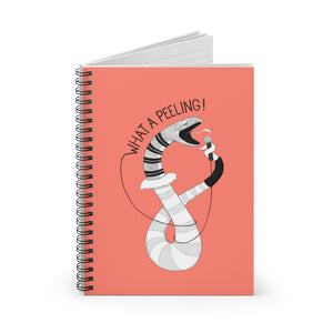 "Snake singing ""What a Feeling"" 