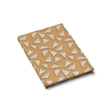 Load image into Gallery viewer, Paper Planes Pattern | Cream | Journal - Blank-journals-Journal-Eggenland