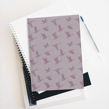 Load image into Gallery viewer, Flying Birds Pattern | Violet | Journal - Blank-journals-Journal-Eggenland