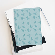 Load image into Gallery viewer, Flying Birds Pattern | Blue | Journal - Blank-journals-Journal-Eggenland