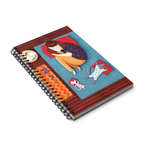 Good Night Sleep Tight | Spiral Notebook 80 pages-80 pages notebook-Eggenland