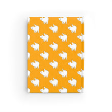 Load image into Gallery viewer, Cute Cat Pattern | Yellow | Journal - Blank-journals-Journal-Eggenland