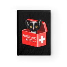 Load image into Gallery viewer, FIRST AID KITten | Black | Journal - Blank-blank journals-Journal-Eggenland