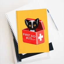 Load image into Gallery viewer, FIRST AID KITten | Yellow | Journal - Blank-blank journals-Journal-Eggenland