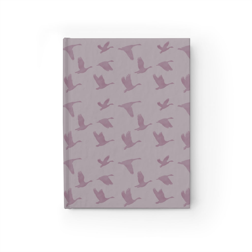 Flying Birds Pattern | Violet | Journal - Blank-journals-Journal-Eggenland