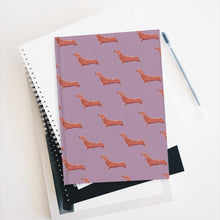 Load image into Gallery viewer, Cute Dachshund Dog | Violet | Journal - Blank-blank journals-Journal-Eggenland