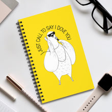 "Load image into Gallery viewer, Dove singing ""I Just Called To Say I Love You"" 