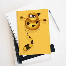 Load image into Gallery viewer, Fat Cat | Yellow | Journal - Blank-blank journals-Journal-Eggenland