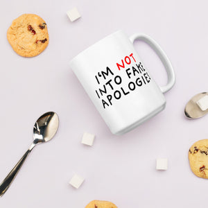 Fake Apologies | Mug-mugs-Eggenland