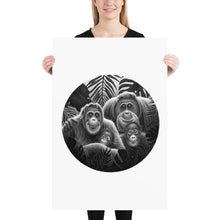 Load image into Gallery viewer, Orangutan Family | Poster