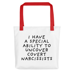 Special Ability | Tote Bag-tote bags-Red-Eggenland