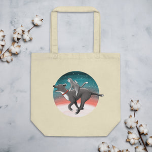 Together We Are Faster | Eco Tote Bag-tote bags-Eggenland