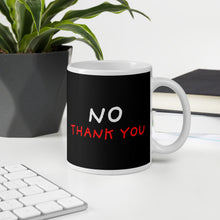 Load image into Gallery viewer, No Thank You | Black Mug-mugs-Eggenland