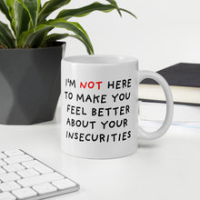 Load image into Gallery viewer, Insecurities | Mug-mugs-Eggenland