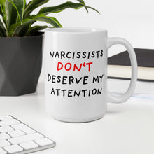 Load image into Gallery viewer, No Attention to Narcissists | Mug-mugs-Eggenland