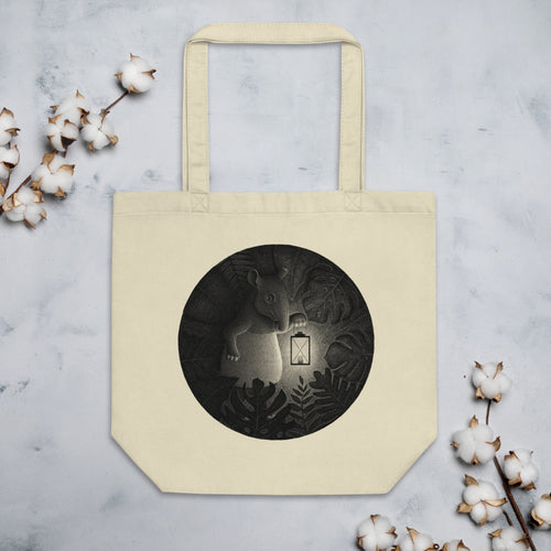 Tapirs Are Night Creatures | Eco Tote Bag-tote bags-Eggenland