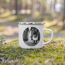 Load image into Gallery viewer, Tapirs Are Gardeners of the Forest | Enamel Mug-enamel mugs-Eggenland