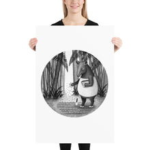 Load image into Gallery viewer, Tapirs Are Gardeners of Forest | Illustration | Poster-posters-24×36-Eggenland