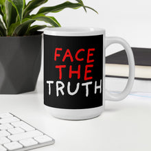 Load image into Gallery viewer, Face The Truth | Black | Mug-mugs-Eggenland
