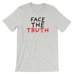 Face the Truth | Short-Sleeve Unisex T-Shirt-t-shirts-Athletic Heather-S-Eggenland