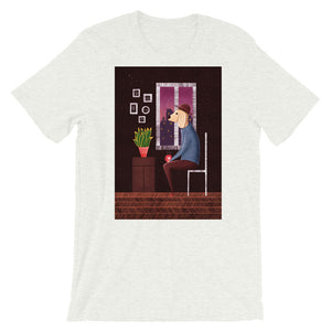 Charlie Waiting For Love | Short-Sleeve Unisex T-Shirt-t-shirts-Ash-S-Eggenland