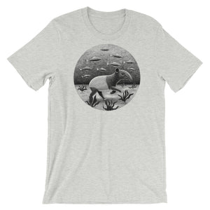 Tapirs Can Walk Underwater | Short-Sleeve Unisex T-Shirt-t-shirts-Athletic Heather-S-Eggenland