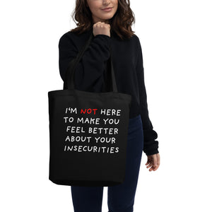 Insecurities | Eco Tote Bag-tote bags-Eggenland