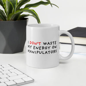 Don't Waste Energy | Mug-mugs-Eggenland
