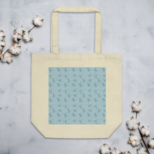 Load image into Gallery viewer, Flying Birds Pattern | Blue | Eco Tote Bag-tote bags-Oyster-Eggenland