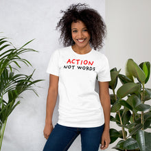 Load image into Gallery viewer, Action Not Words | Short-Sleeve Unisex T-Shirt-t-shirts-Eggenland