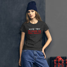Load image into Gallery viewer, Nice Try | Women's Short-Sleeve T-Shirt-t-shirts-Eggenland