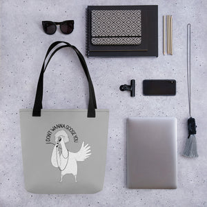 "Goose singing ""I Don't Wanna Lose You"" 