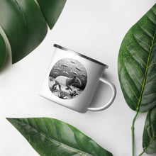 Load image into Gallery viewer, Tapirs Can Walk Underwater | Enamel Mug-enamel mugs-Eggenland