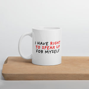 Right to Speak Up | Mug-mugs-11oz-Eggenland